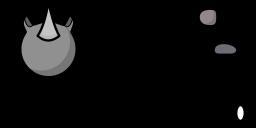 rhino Teeworlds skin