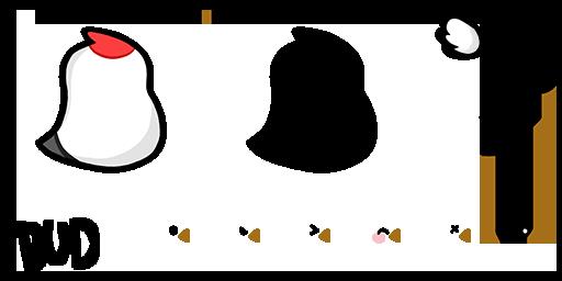 ChickenCrane Teeworlds skin