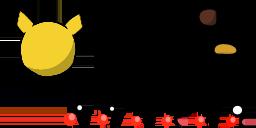 Pikachu Teeworlds skin